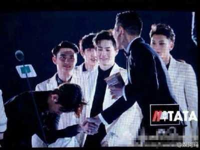 刘德华exo 所有成员态度都很高傲