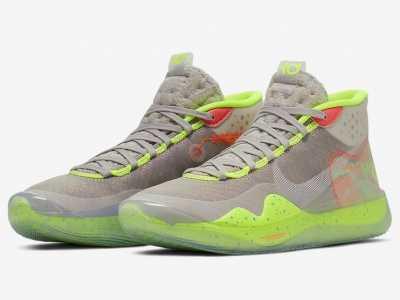 杜兰特最新篮球鞋 杜兰特全新战靴来了