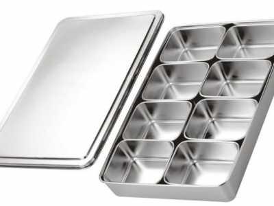 不锈钢调料盒 厨房餐具