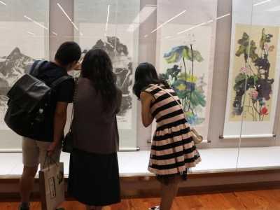 台湾画家 这次带了20幅作品来上海
